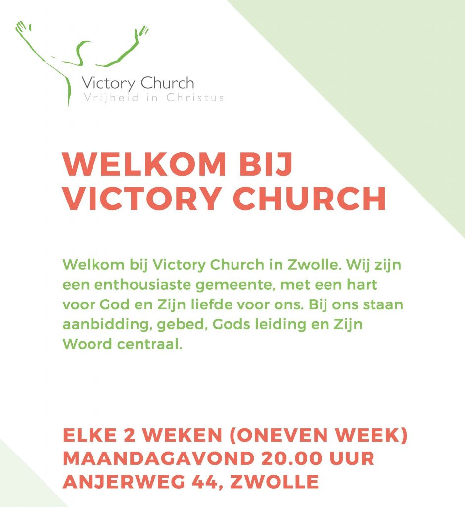 Victory Church Zwolle Flyer