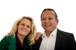 Jeffrey en Elisabeth Messak